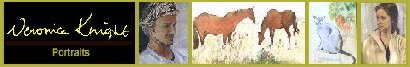 Portrait Commissions, Artist's Fine Art Galleries, Veronica Knight